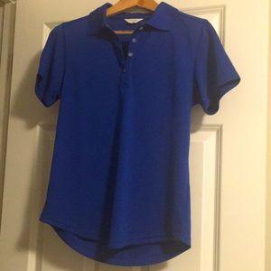 Callaway polo shirt.  Golf. Cobalt blue. Medium